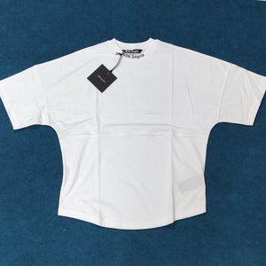 Palm Angels Back Written White Casual T-shirt